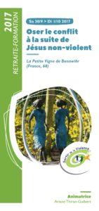 Oser le conflit à la suite de Jésus non violent @ La Petite Vigne | Bennwihr | Grand Est | France